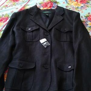 Ralph Lauren black jacket size 16